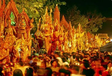 Festival delle Candele Thailandia