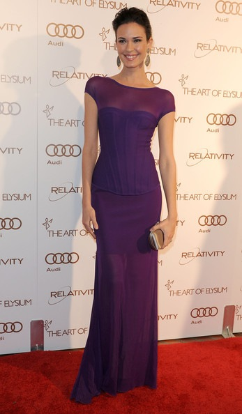 Odette Annable arrives at The Art Of Elysium's 5th Annual Heaven Gala