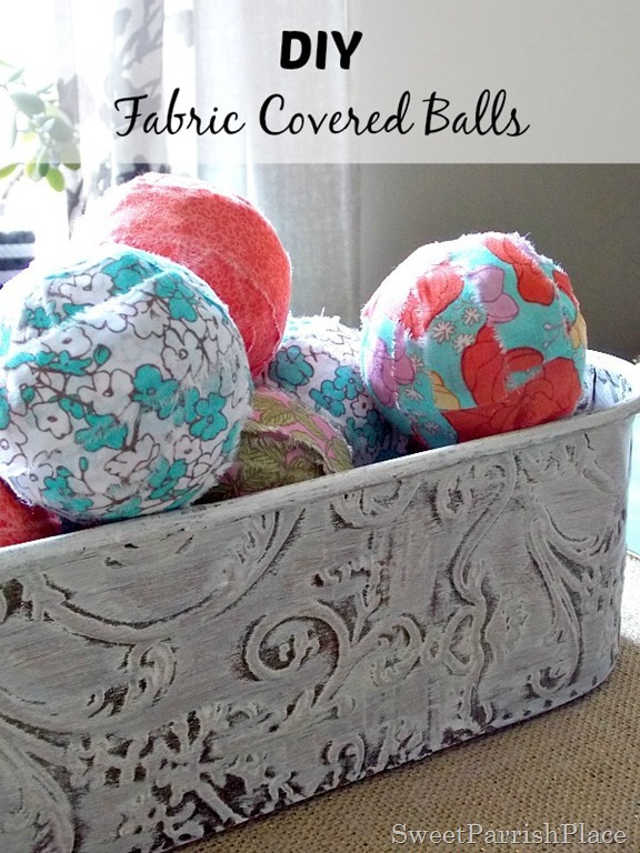 Fabric Covered Balls7