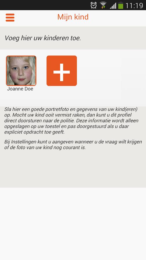 AMBER Alert- screenshot