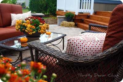 outdoor placemat pillows
