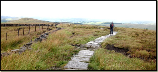 A view from by the summit of Shining Tor - 559 metres