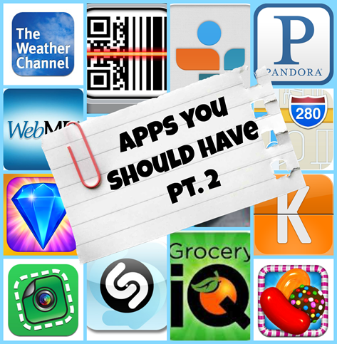 AppsYouShouldHave Pt.2 | NewMamaDiaries.blogspot.com