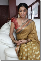 Tanu shree Dutta Spicy in saree
