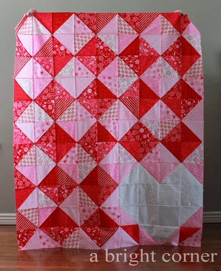 Sweet Talk quilt pattern by A Bright Corner