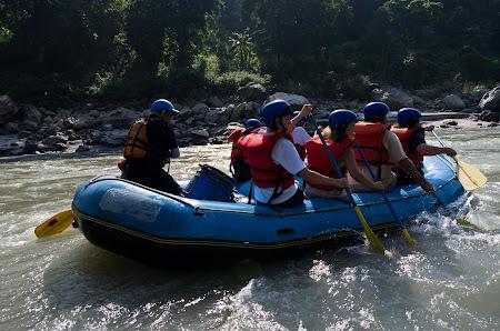 Extrem Nepal: rafting Trisuli