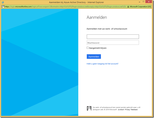 Facts about adding Windows Azure Active Directory (WAAD