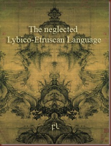 The neglected Lybico-Etruscan Language Cover