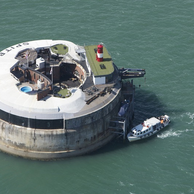 Victorian Era Sea Fort Turned Into Luxury Hotel