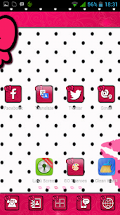 玩個人化App|Cute XoXo GO theme by BBFreaks免費|APP試玩