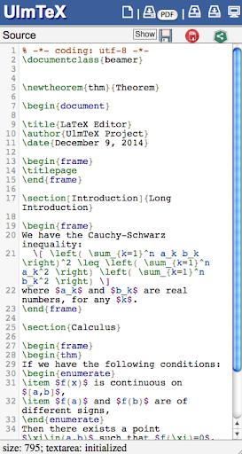 UlmTeX - Complete LaTeX Editor