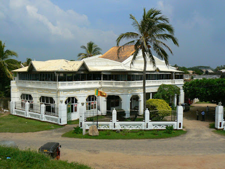 Atractii Sri Lanka: Galle oras istoric
