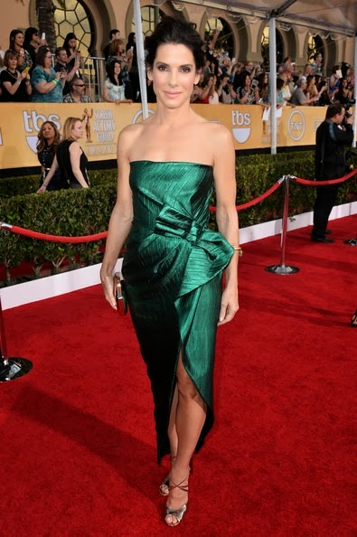 Sandra Bullock attends the 20th Annual Screen Actors Guild Awards