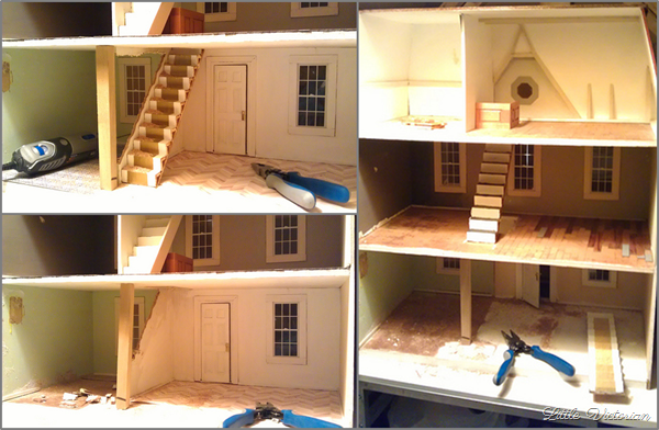 Dollhouse demolition