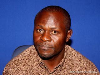 Joseph Kongolo. Radio Okapi/ Ph. John Bompengo