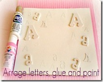 Arrange Glue Paint