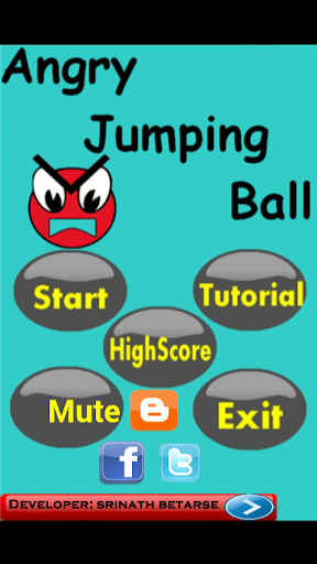 Angry Jumping Ball