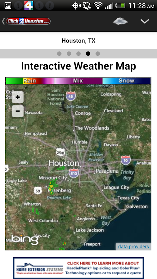Click2Houston - screenshot