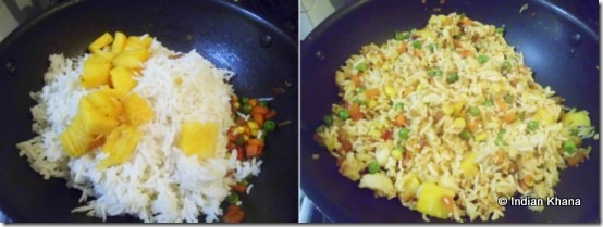 Easy pineapple fried rice3