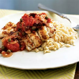 Grouper With Sauce Recipes.