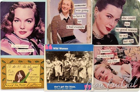 Funny Fridge Magnets Collage