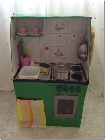 Mammarum: Giochi fai da te: come costruire una cucina per ...