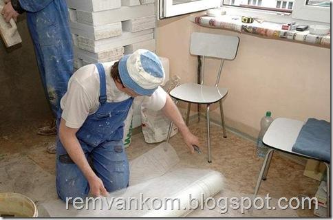 комплексный ремонт ванной комнаты 4