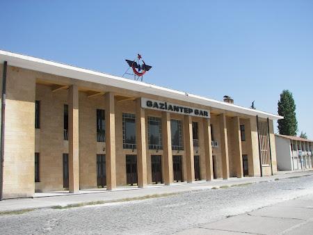 Transport Turcia: gara Antep