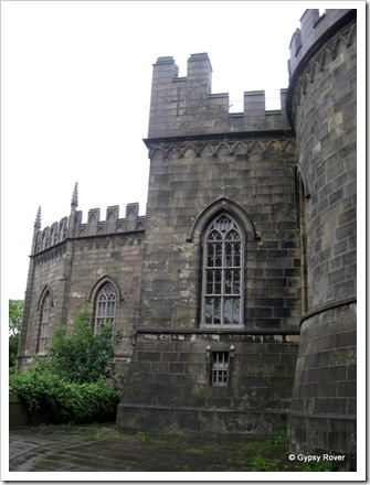 Lancaster Castle. Still used as a Crown Court.