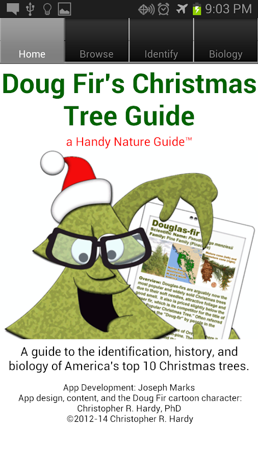 Doug Fir Christmas Tree Guide- screenshot