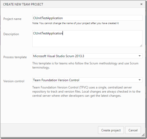 New-Project-unit-test-continious-integration