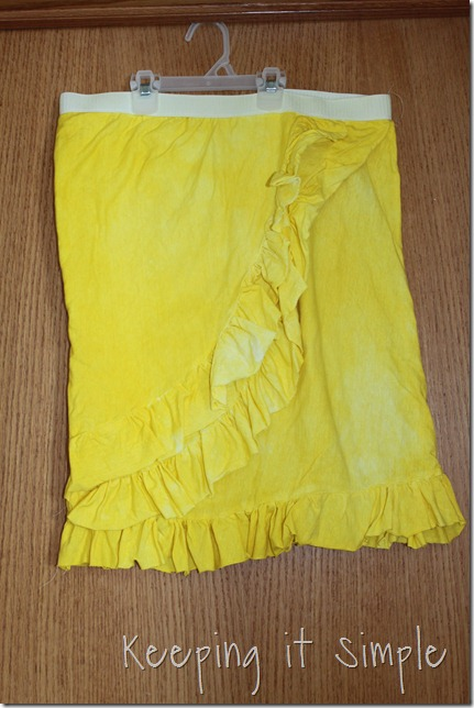 yellow dyed skirt (10)