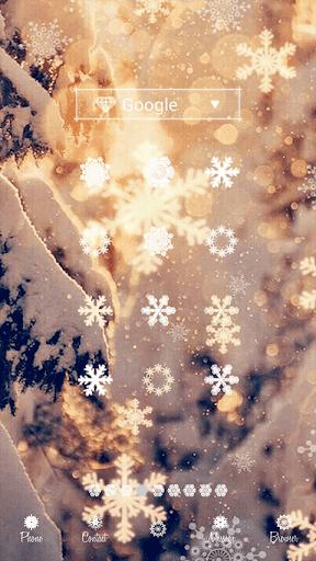 White Christmas dodol theme