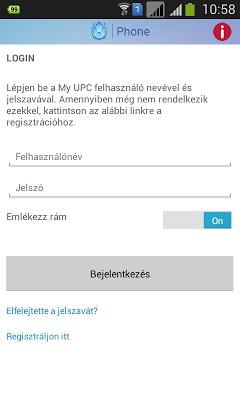 UPC Phone (Magyar) - screenshot