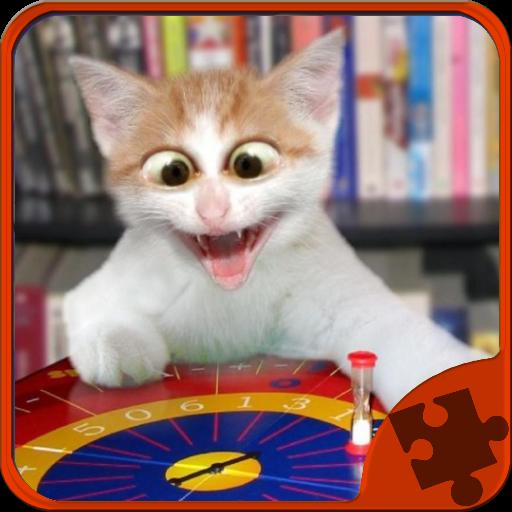 解謎必備App|Funny Cats Jigsaw Puzzle LOGO-綠色工廠好玩App