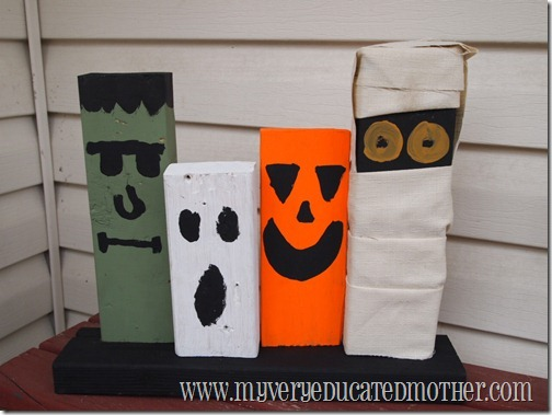 www.myveryeducatedmother.com 2x4 Halloween decor step 5