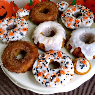 Baked Pumpkin Spice Doughnuts