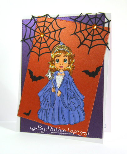 Inky Impressions - Princess Lili - Ruthie Lopez - Halloween Card