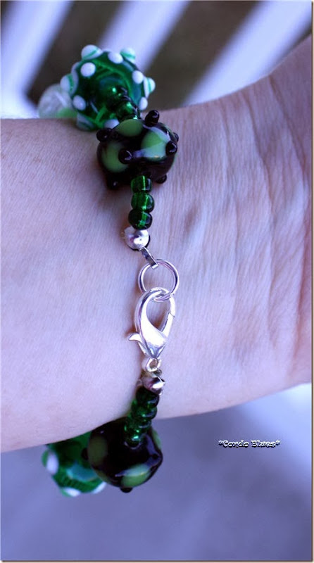 how to attach clasp to bracelet
