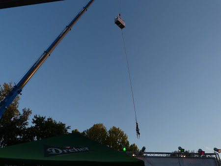 Sziget festival: Bungee jumping