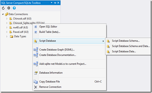 SQLite Toolbox 4 0 – Visual Guide of Features - DZone Agile