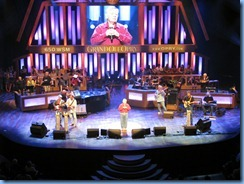 9105 Nashville, Tennessee - Grand Ole Opry radio show - John Conlee and band