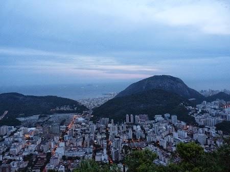 Carnavalul de la Rio:  Rio vazut de sus