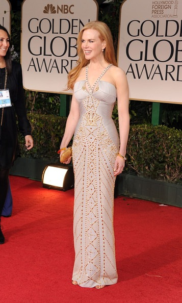 Nicole Kidman arrives at the 69th Annual Golden Globe Awards