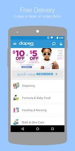 Diapers.com - screenshot thumbnail