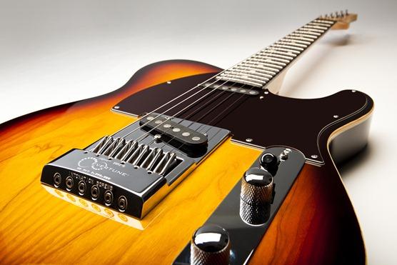 EverTune Bridge G Model in Black for Gibson Guitars Image 1