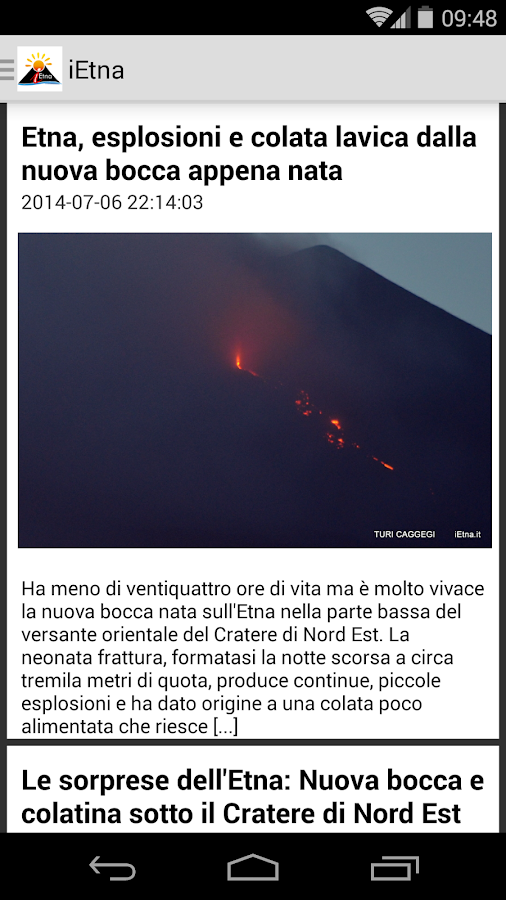 iEtna- screenshot