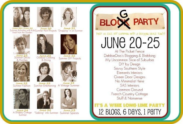 Blogger Block Party Graphic