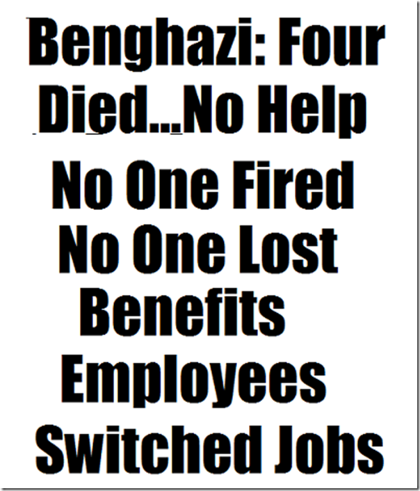 Benghazi four died