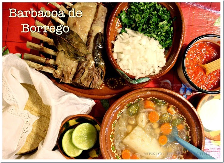Lamb Barbacoa | Barbacoa de Borrego